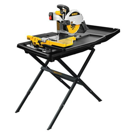 "DeWALT D24000S - 10"" 120V 15.0A Corded Tile Saw with Stand"