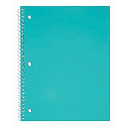 Just Basics® Poly Spiral Notebook, 8 1/2