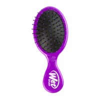 Wet Brush Mini Detangle IntelliFlex Bristles Hair Brush Mini Purple