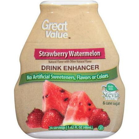 Great Value Strawberry Watermelon Drink Mix 162 Fl Oz Walmartcom