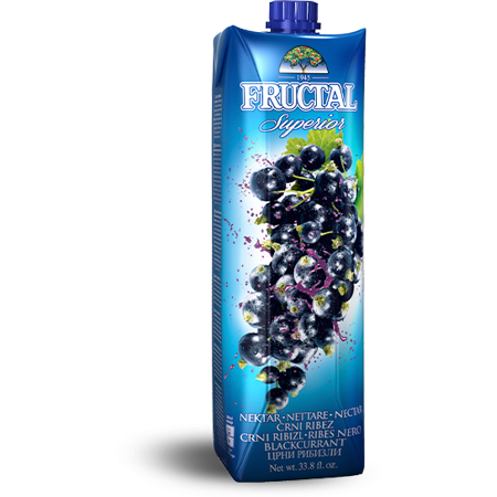 Black Currant Nectar (fructal) 1L