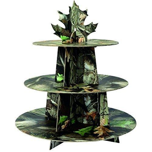 1 X Next Camo Cupcake Stand Havercamp Camouflage Party Supply