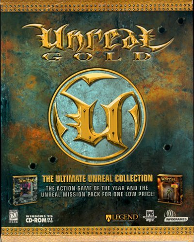 Unreal Gold - PC, Unreal Gold includes Unreal Mission Pack I By Atari Ship from US