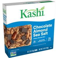 Kashi, Chewy Granola Bars, Chocolate Almond Sea Salt, 6 Ct, 7.4 Oz
