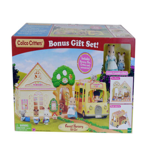 Forest Nursery Gift Set Calico Critters Walmart Com