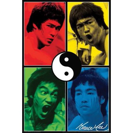 Poster - Bruce Lee - Color Wall Art Licensed New Gifts Toys 241102 (Bruce Willis Poster)