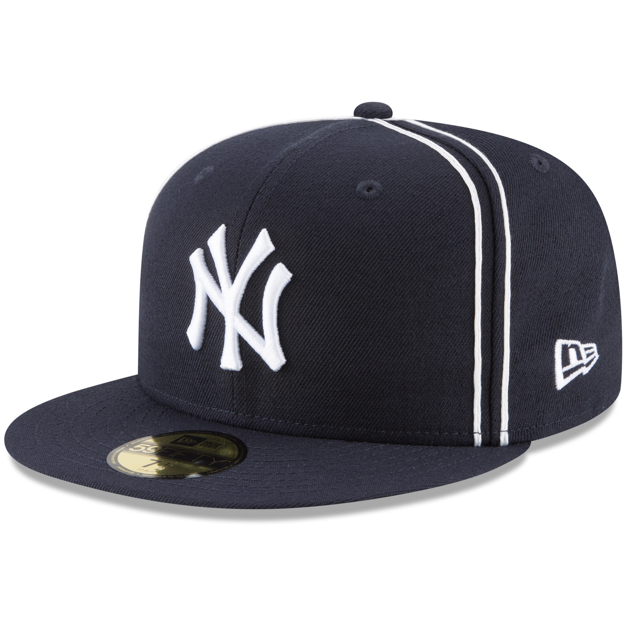 New York Yankees New Era Y2K Soutache 59FIFTY Fitted Hat - Navy