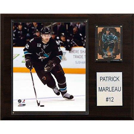 C&I Collectables NHL 12x15 Patrick Marleau San Jose Sharks Player Plaque - Party America San Jose