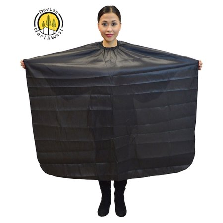 DevLon NorthWest Hair Salon Cape Professional Waterproof Cape Salon Styling Cape For Hair Cutting, Coloring and Styling
