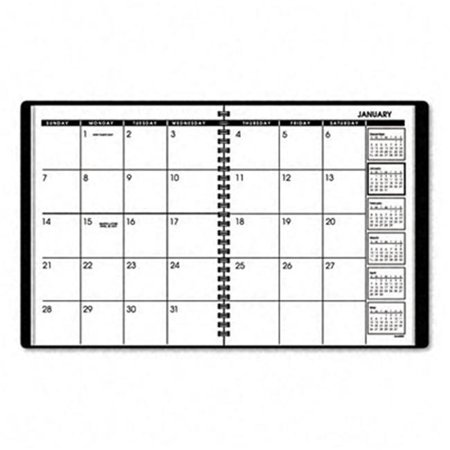 Monthly Padfolio Unruled One Month (At-A-Glance 7012005 Unruled Monthly Planner/PlannerFolio Refill  6-7/8 x 8-3/4  Black )