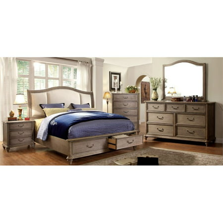 Furniture Of America Bartrand 4 Piece Queen Bedroom Set