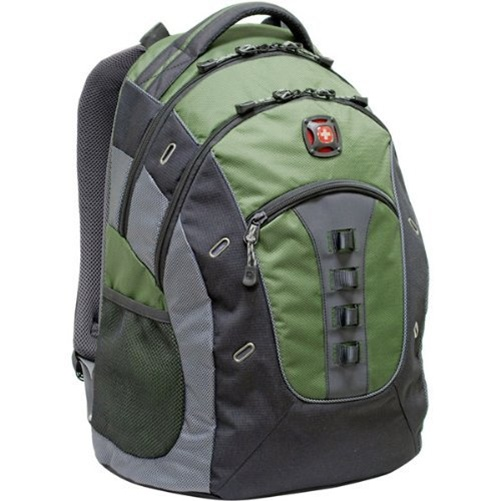 "Swissgear Granite 16"" Laptop Backpack with Tablet Pocket (Green)"