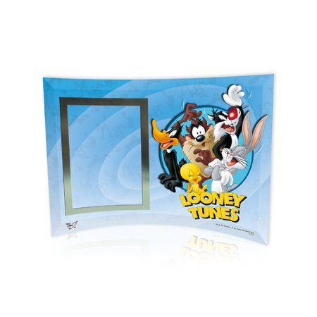 - Trend Setters Looney Tunes (Group) Curved Glass Print with Photo Frame