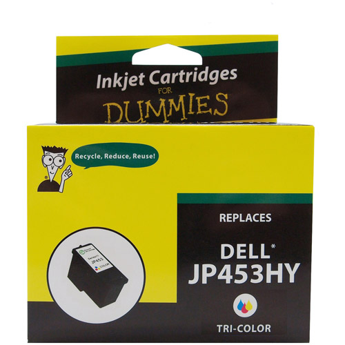 For Dummies Remanufactured Dell KX703/JP453 Tri-Color Ink Cartridge