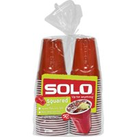 Red Solo Cups, 18 oz, 50 Count