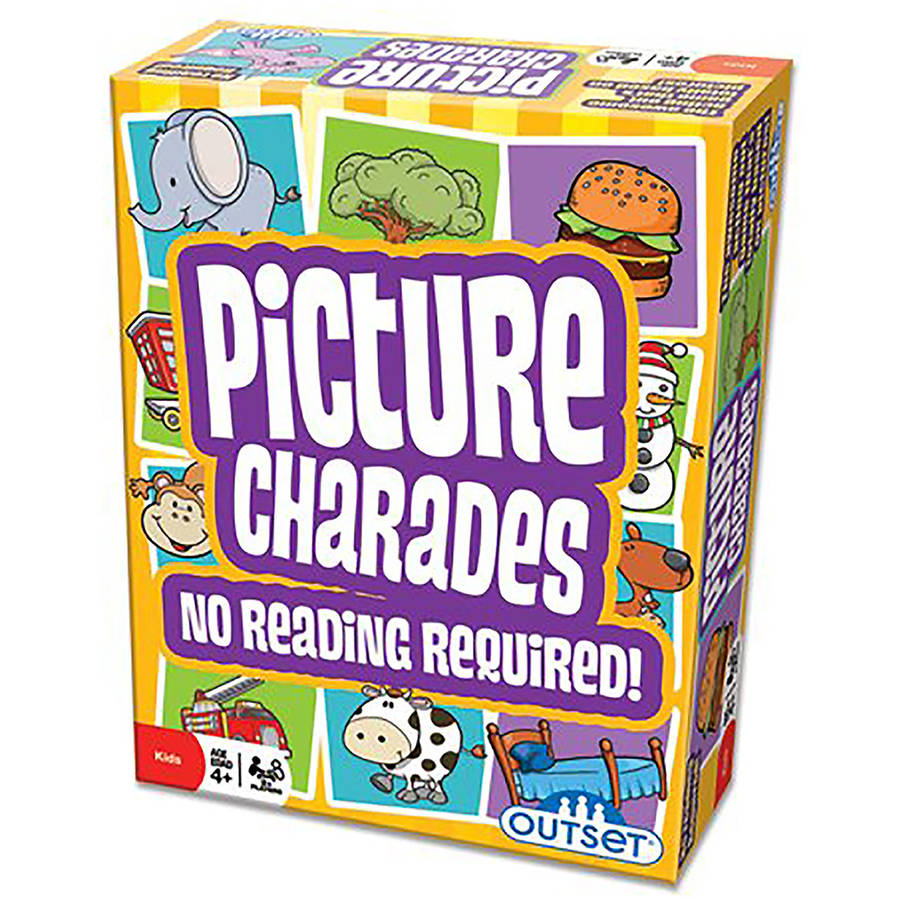 Outset Picture Charades Game