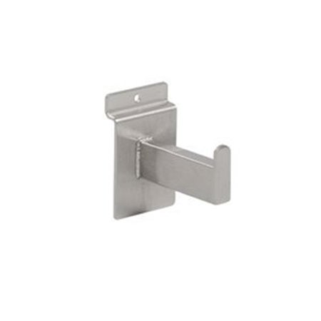 3 in. Faceout Rectangle Tubing for Slatwall, Satin Nickel - image 1 of 1
