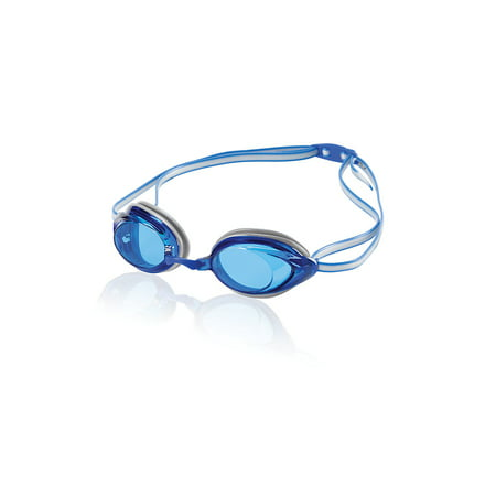 Speedo Vanquisher 2.0 Anti-Fog Swim Swimming Competition Pool Sport Goggle, Blue