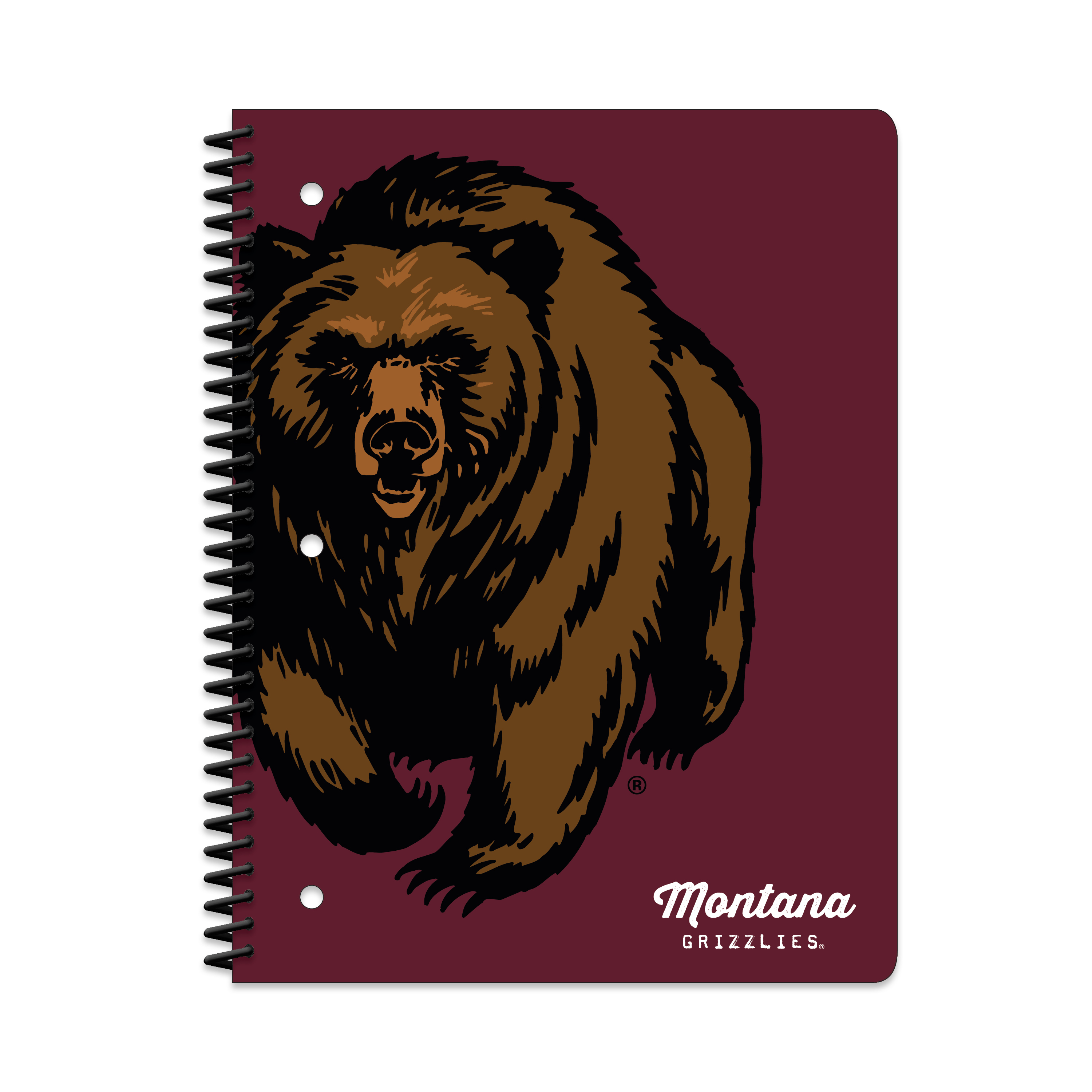 MONTANA GRIZZLIES CLASSIC 1-SUBJECT NOTEBOOK