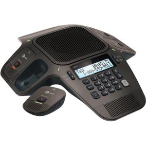 AT&T SB3014 DECT 6.0 Conference Phone - Corded/Cordless - 1 x Phone Line - Speakerphone WITH 4 WRLS MICS
