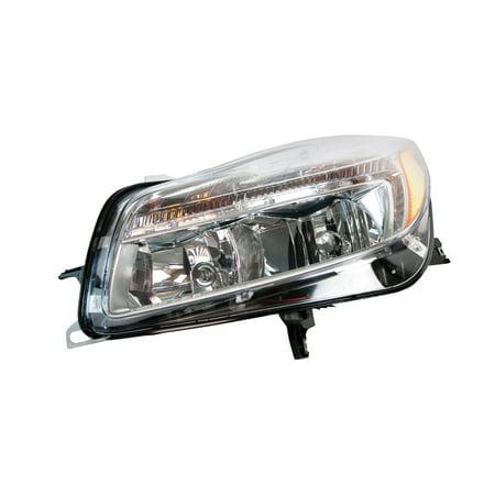 2011-2014 Buick Regal Headlight Left Driver Side Halogen Headlamp Assembly Buick Regal Headlamp Headlight Lamp