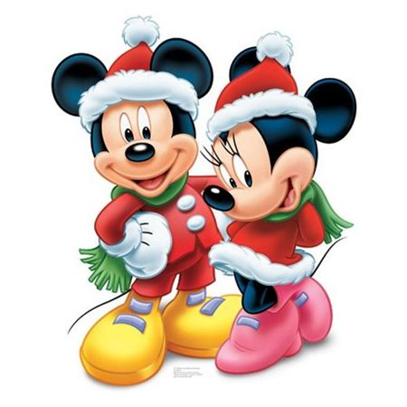 Mickey Mouse Cardboard Cutout (Advanced Graphics 744 Mickey and Minnie)