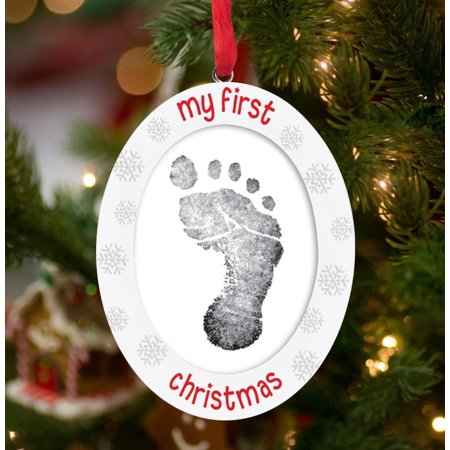 Tiny Ideas My First Christmas Double Sided Print And Photo