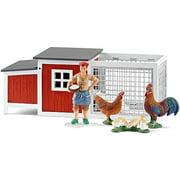 Schleich North America 42191 RED Chicken Coop