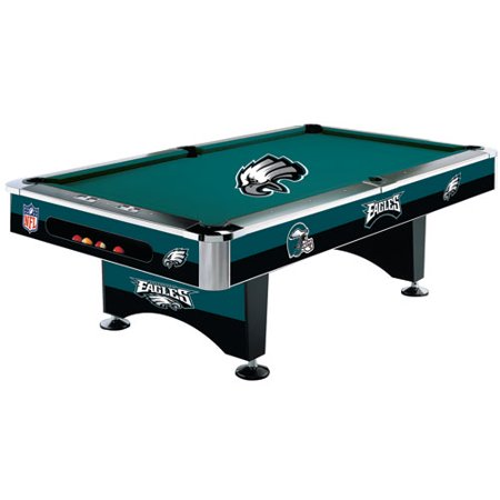 NFL Philadelphia Eagles Pool Table Foot With Logo Cloth - 44x88 pool table