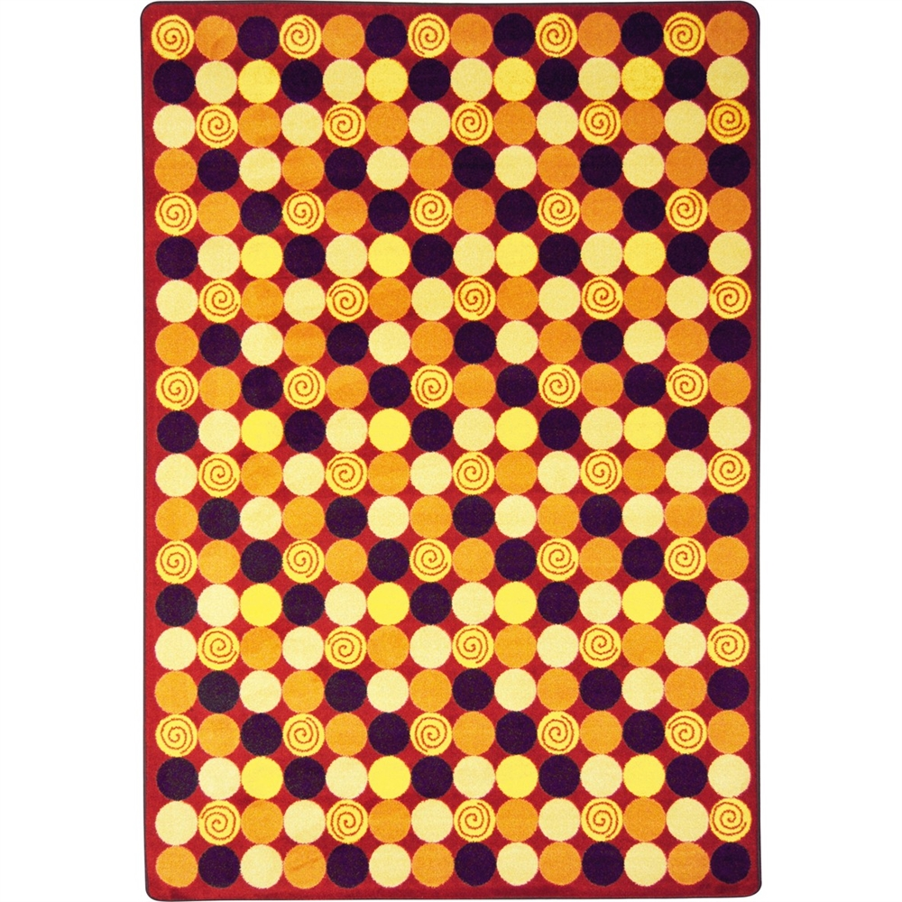 """Kid Essentials Teen Area Rugs Roundabout, 7'8"""" x 10'9\ by Joy Carpet"""