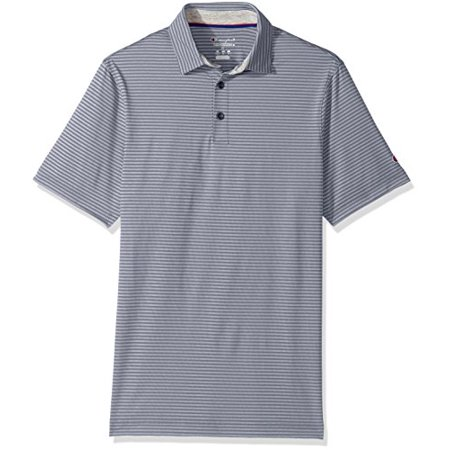 Champion Mens Golf Polo Concrete Stripe Xxl Hanes - Ships Directly From Hanes