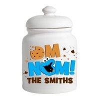 Personalized Sesame Street Cookie Monster Cookie Jar
