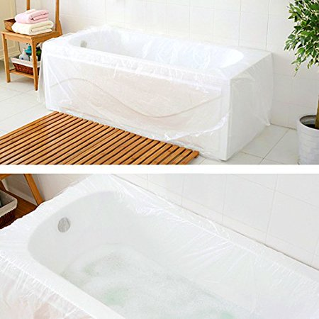 TFY Ultra Large Disposable Film Bathtub Bag for Salon, Household and ...