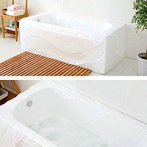 Delicieux TFY Ultra Large Disposable Film Bathtub Bag For Salon, Household And Hotel  Bath Tubs (