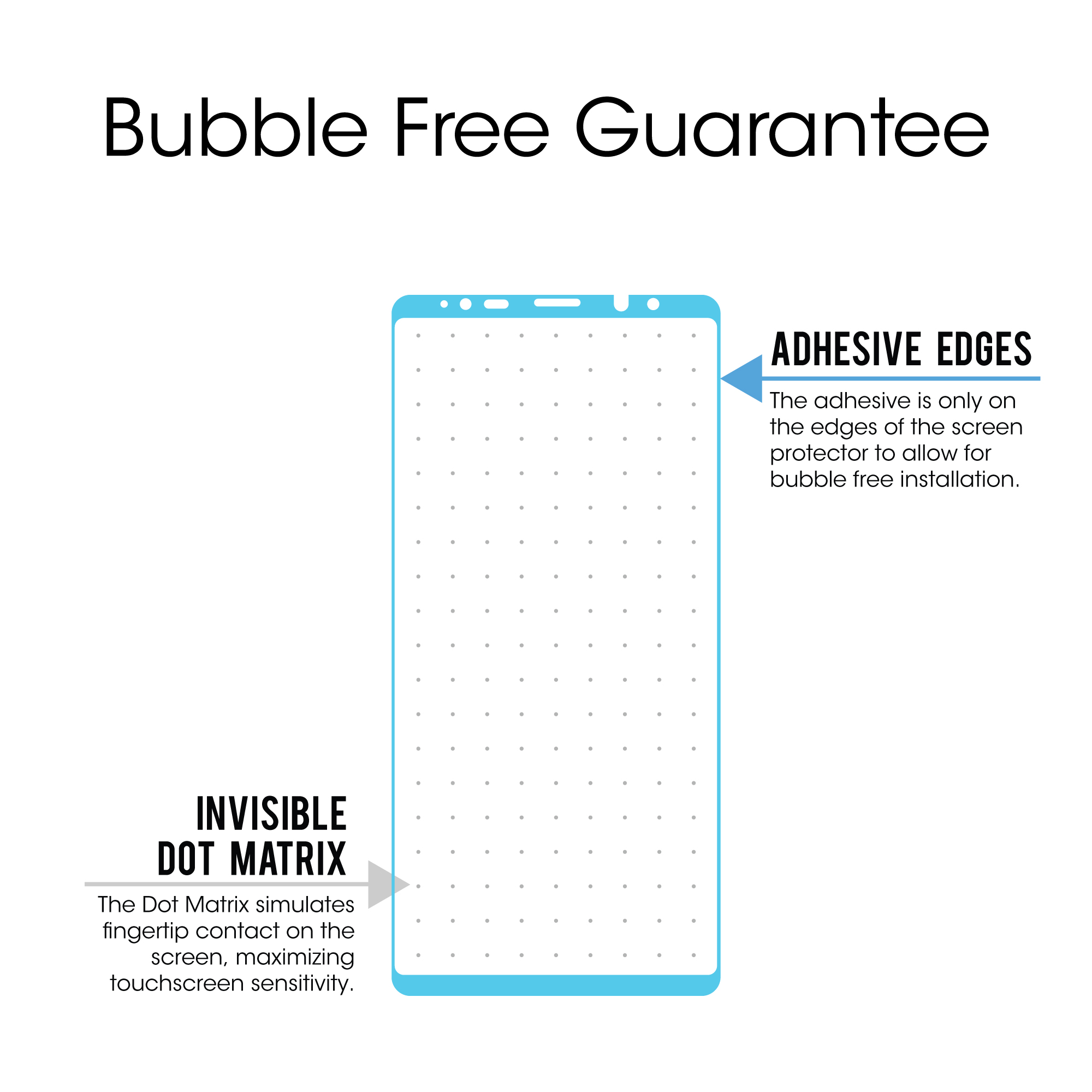 Samsung Galaxy Note 8 Amfilm Full Cover Tempered Glass Screen