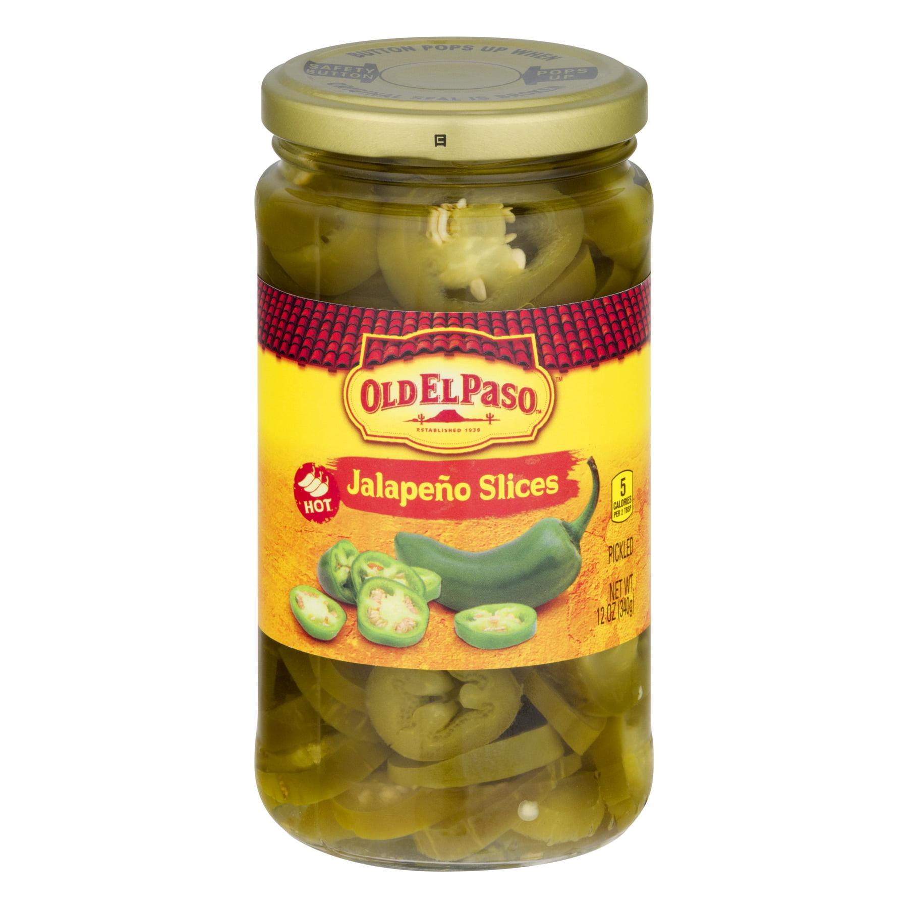 (6 Pack) Old El Paso™ Pickled Jalapeno Slices 12 oz., 12.0 OZ