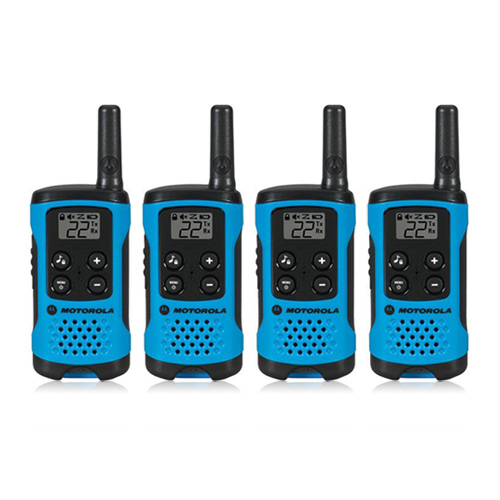 """Motorola T100 (4-Pack) Walkie Talkies"""