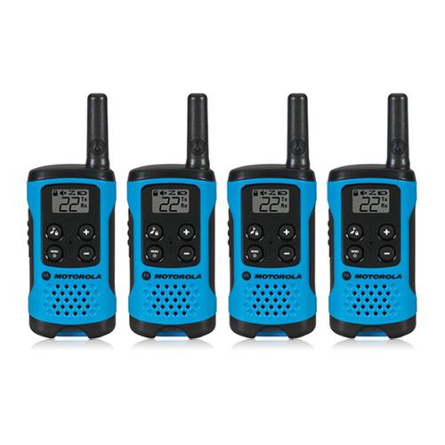 Motorola T100 (4-Pack) Walkie Talkies