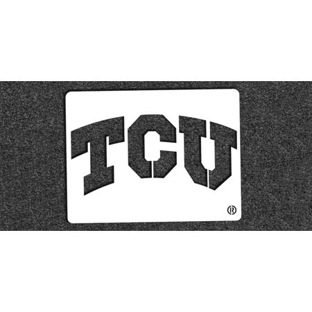 NCAA TCU Horned Frogs Collegiate 'TCU' Mini Stencil Kit