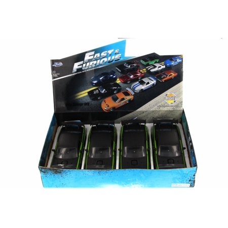 Box of 4 Diecast Model Cars - Fast & Furious Letty