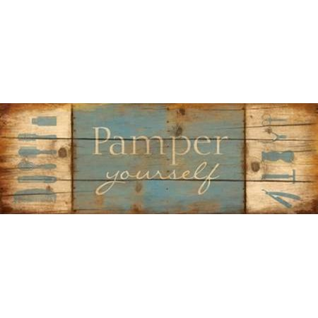 Pamper Yourself Poster Print by Jace Grey ()