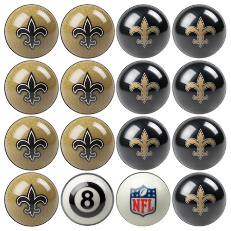 New Orleans Saints NFL Billiard Ball Set - No (New Orleans Saints Billiard Ball)