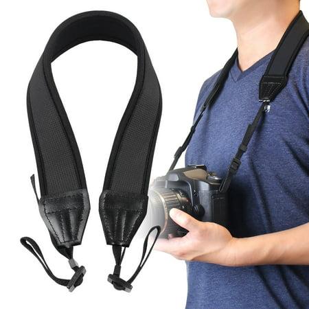 Insten Anti-Slip Weight Reducing Neoprene Camera Neck Strap, 3.5 FT / 1 M,