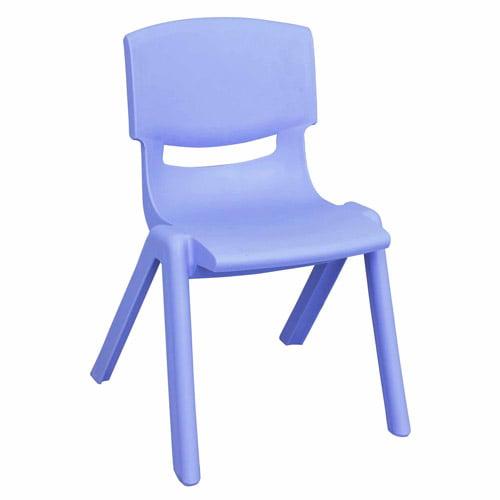 "14"" Resin Chair - Cornflower Blue -6PK"