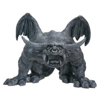 Bull Horned Gargoyle - Collectible Figurine Statue Sculpture Figure
