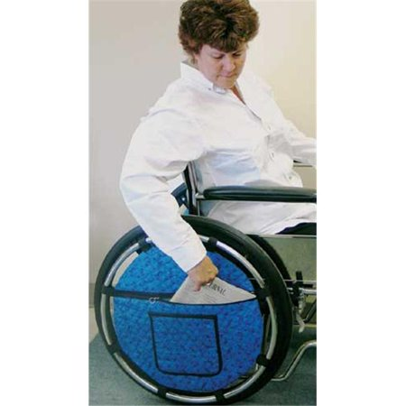Complete Medical Supplies 1967 Wheel Pouch for Wheelchair