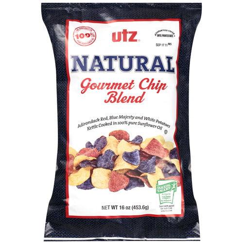 Utz Red, White & Blue Medley Chips, 16 oz