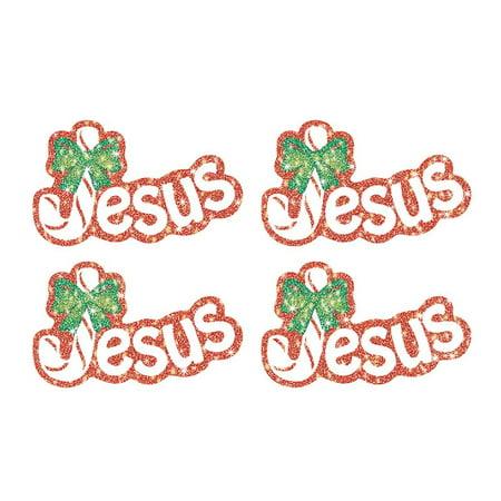CD-2155 - Jesus (Legend of the Candy Cane) Dazzle Stickers by Carson Dellosa