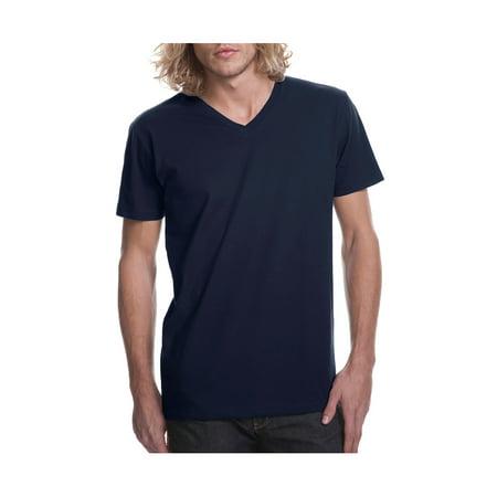 ecbc7f961 Next Level Men's Premium Fitted Short Sleeve V-Neck T-Shirt, Style NL3200