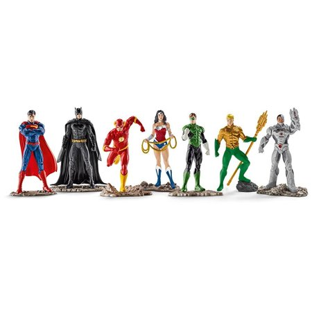 Schleich North America The Justice League Big Set (American Indians American Justice)